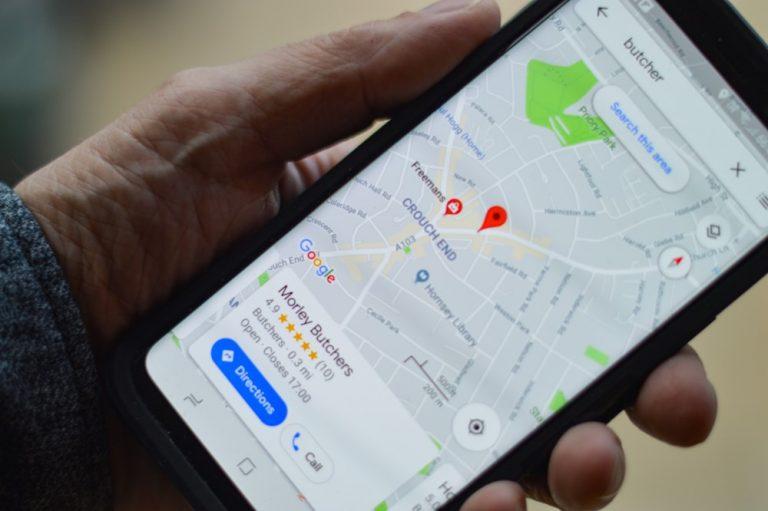 eliminar negocio google maps